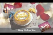 Happy Birthday Animated Video Greeting