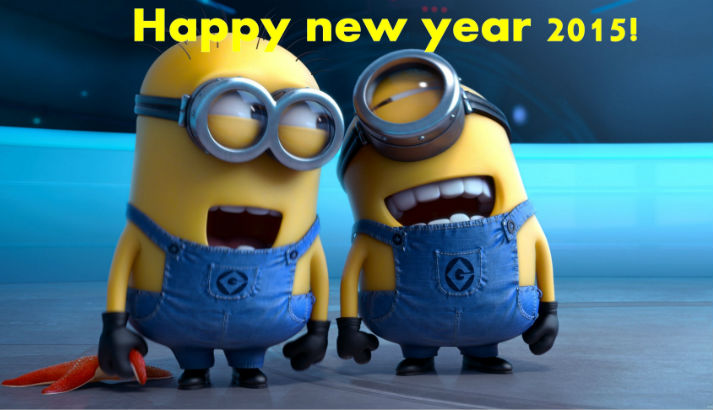Funny New Year 2015 Greeting for Friends