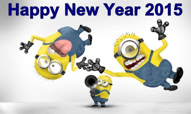 Funny new year 2015 wishes for Friends