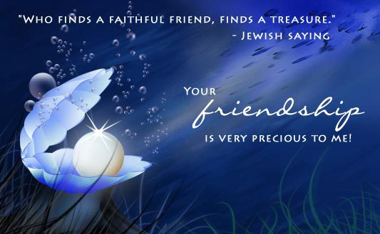 Who finds a faithful friend, finds a treasure. Your friendship is very previous to me. Happy Friendshipday.