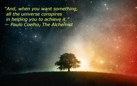 Paulo Coelho Quotes: And, when you want something, all the universe conspires in helping you to achieve it.